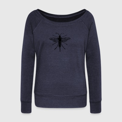 insect - Women's Boat Neck Long Sleeve Top