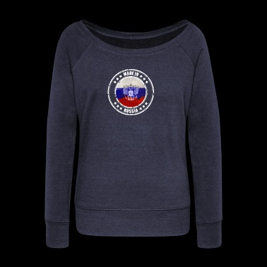Made in Russia - Women's Boat Neck Long Sleeve Top