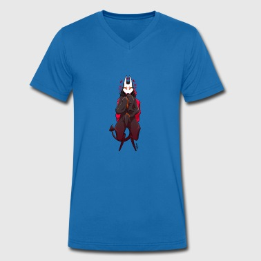 creature - Men's Organic V-Neck T-Shirt by Stanley & Stella