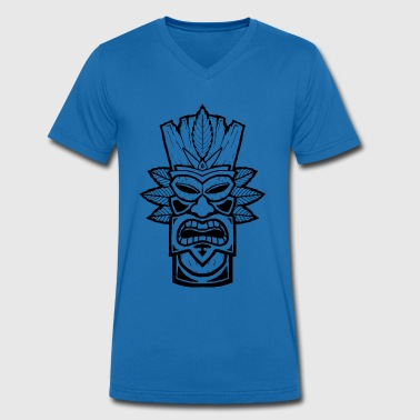 Tiki - Men's Organic V-Neck T-Shirt by Stanley & Stella