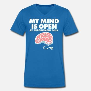 Neurology I Am An Open Person. But By Appointment Only! - Men's Organic V-Neck T-Shirt by Stanley & Stella