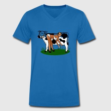 Cow Milking Dry - T-shirt bio col V Stanley & Stella Homme