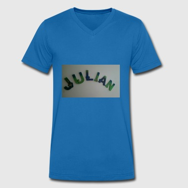 Julian Julian - Men's Organic V-Neck T-Shirt by Stanley & Stella
