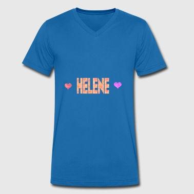 Helen Helene - Men's Organic V-Neck T-Shirt by Stanley & Stella