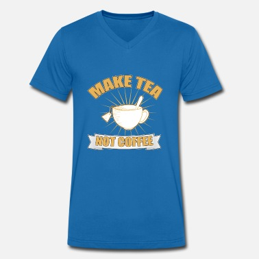 Tea Tea, Tea, Tea - Men's Organic V-Neck T-Shirt by Stanley & Stella
