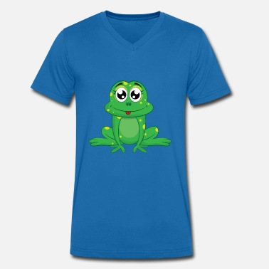 Coquin Grenouille coquine - T-shirt bio col V Stanley & Stella Homme