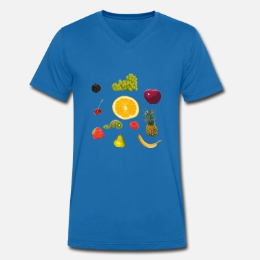 Fruits Humour fruits - T-shirt bio col V Stanley & Stella Homme