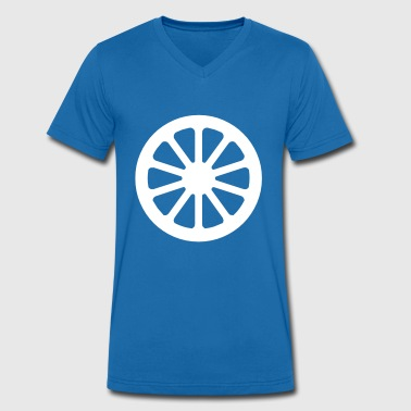 Wheels wheel - Men's Organic V-Neck T-Shirt by Stanley & Stella