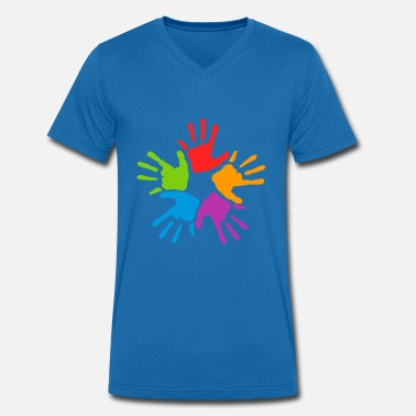 Togetherness Together - Men's Organic V-Neck T-Shirt by Stanley & Stella