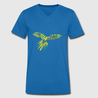 Ara ararauna - Men's Organic V-Neck T-Shirt by Stanley & Stella
