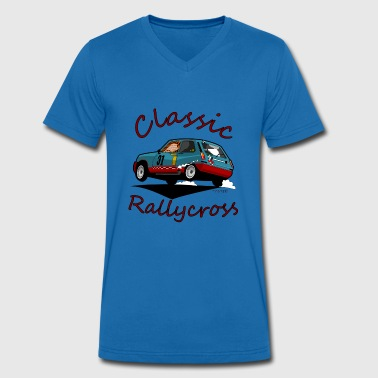 Skids Rallycross - Men's Organic V-Neck T-Shirt by Stanley & Stella