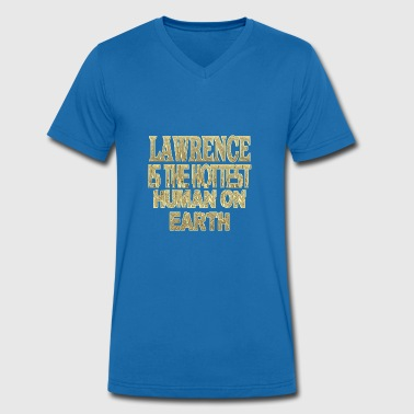 Lawrence - Men's Organic V-Neck T-Shirt by Stanley & Stella