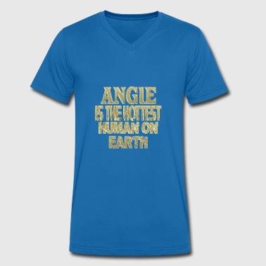 Angers Angie - T-shirt bio col V Stanley & Stella Homme