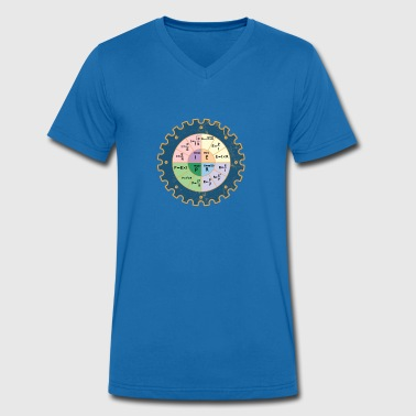 The Ohm's Law Diagram Electrician Physicist - Men's Organic V-Neck T-Shirt by Stanley & Stella
