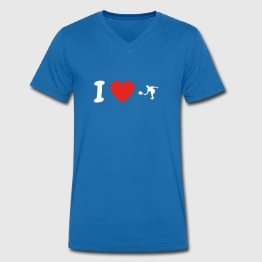 I Love Tennis I love tennis tennis tennis player png - Men's Organic V-Neck T-Shirt by Stanley & Stella