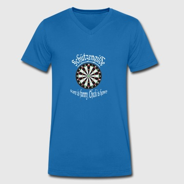 Guild Dart shooting guild - Men's Organic V-Neck T-Shirt by Stanley & Stella
