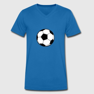 Football 3 - Men's Organic V-Neck T-Shirt by Stanley & Stella