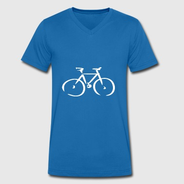 bicycle - Men's Organic V-Neck T-Shirt by Stanley & Stella