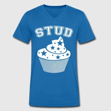 Stud muffin - Men's Organic V-Neck T-Shirt by Stanley & Stella