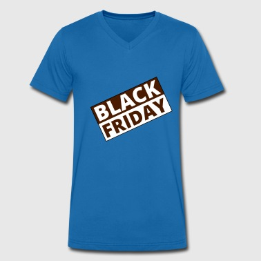 Black Friday - Men's Organic V-Neck T-Shirt by Stanley & Stella