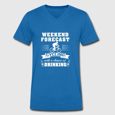 Weekend with the chance to drink - Men's Organic V-Neck T-Shirt by Stanley & Stella