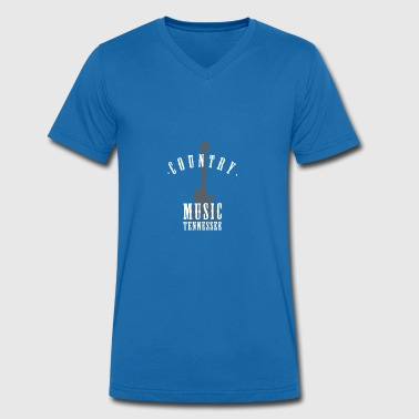 musique country tennessee - T-shirt bio col V Stanley & Stella Homme