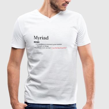 Musicals Musical Theatre Myriad - Heathers The Musical - Men's Organic V-Neck T-Shirt by Stanley & Stella