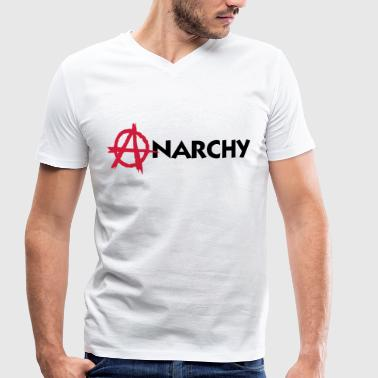 Anarchy! - Men's Organic V-Neck T-Shirt by Stanley & Stella
