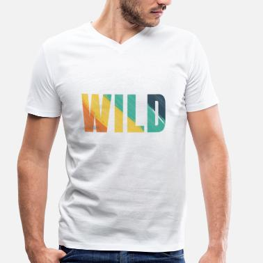Wild Animals Wild animal - Men's Organic V-Neck T-Shirt by Stanley & Stella