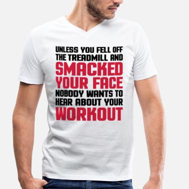 Bdsm Hear About Your Workout  - Men's Organic V-Neck T-Shirt by Stanley & Stella