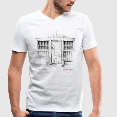 Door of the shed - Men's Organic V-Neck T-Shirt by Stanley & Stella
