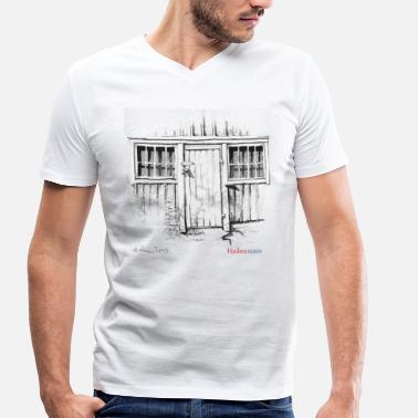Sheds Door of the shed - Men's Organic V-Neck T-Shirt by Stanley & Stella