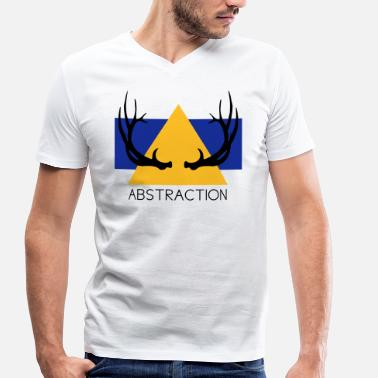 Abstraction Abstraction - T-shirt bio col V Stanley & Stella Homme