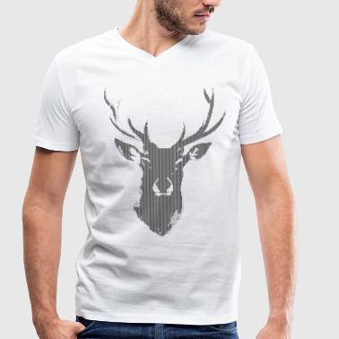 Deer Digital - Men's Organic V-Neck T-Shirt by Stanley & Stella