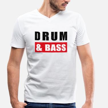 Dnb And DnB - Men's Organic V-Neck T-Shirt by Stanley & Stella