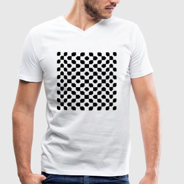 Optical Illusion - Men's Organic V-Neck T-Shirt by Stanley & Stella