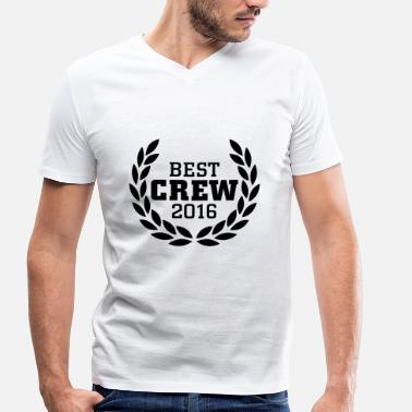 Family Fuck Up Best Crew 2016 Long Sleeve Shirts - Men's Organic V-Neck T-Shirt by Stanley & Stella