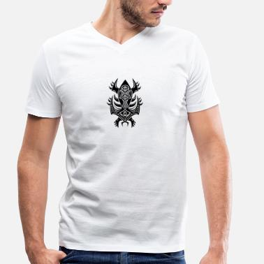 Gem Alien gem - Men's Organic V-Neck T-Shirt by Stanley & Stella