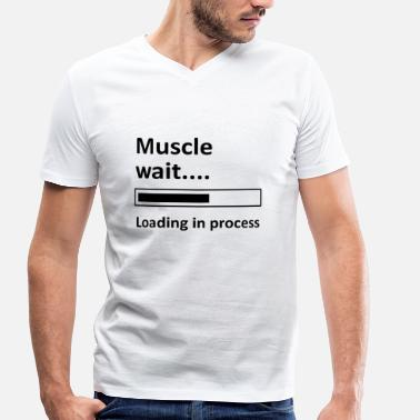 Muscle Blagues muscle - T-shirt bio col V Stanley & Stella Homme