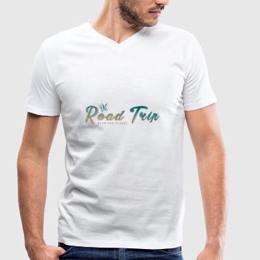 Trip Road trip trip - Men's Organic V-Neck T-Shirt by Stanley & Stella