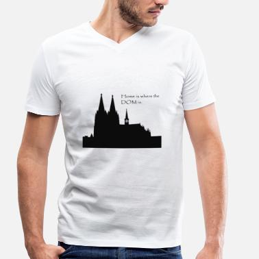 Cologne Cathedral Cologne cathedral - Men's Organic V-Neck T-Shirt by Stanley & Stella