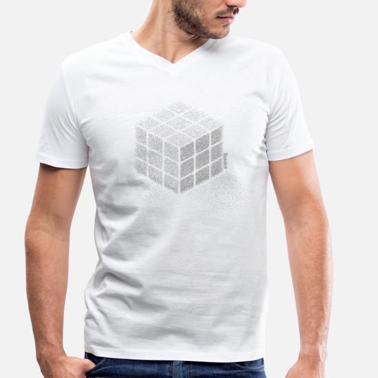 premium selection 5ea4e c599f Rubik's Cube Zauberwürfel aus Punkten Männer Bio T-Shirt mit ...