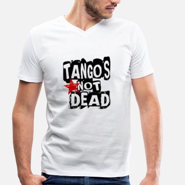 Tango Dancing Tango is not Dead - Tango Dance Shirt - Men's Organic V-Neck T-Shirt by Stanley & Stella