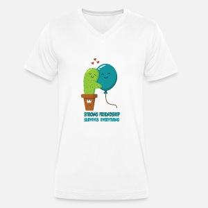 9945d7ca9de37 cactus et ballon - Amis - Amitié - Amour T-shirt premium Homme ...