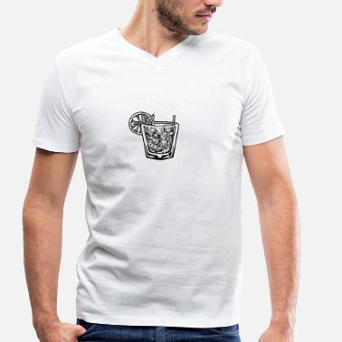 Drinking Alcohol Alcohol - Men's Organic V-Neck T-Shirt by Stanley & Stella