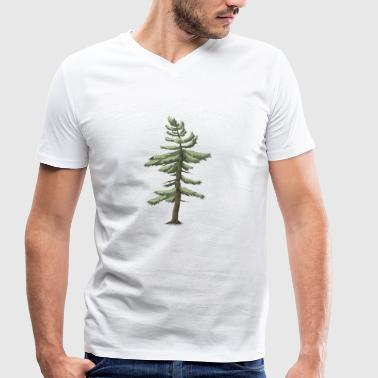 Conifer conifer - Men's Organic V-Neck T-Shirt by Stanley & Stella