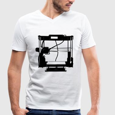 3D printer - AnetA8 - Men's Organic V-Neck T-Shirt by Stanley & Stella