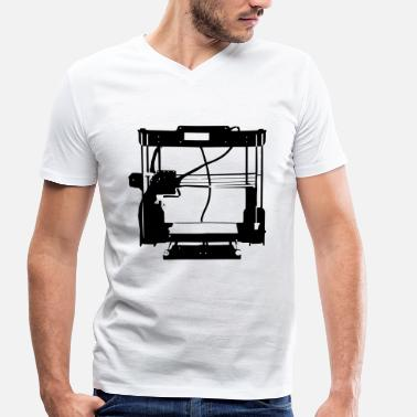 3d Printer 3D printer - AnetA8 - Men's Organic V-Neck T-Shirt by Stanley & Stella