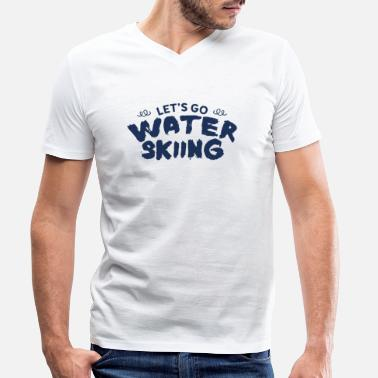 Water Sports water sports - Men's Organic V-Neck T-Shirt