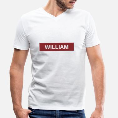 Williams William - T-shirt bio col V Stanley & Stella Homme